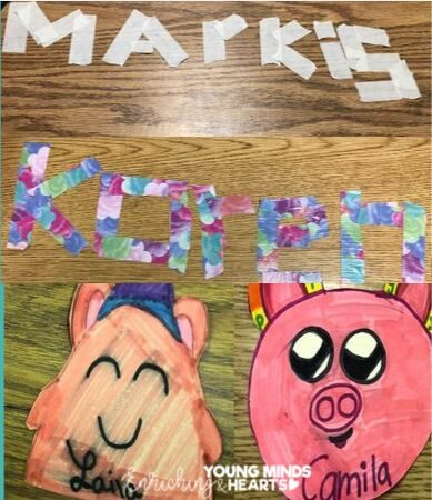 5 Student Created Name Tag Ideas for Any Grade