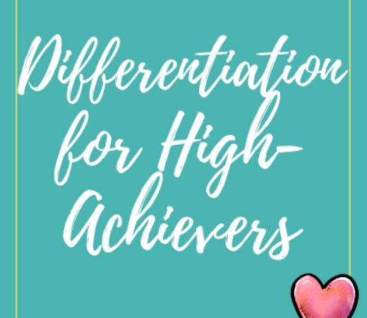 Differentiation for High-Achievers