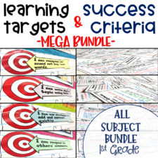 Learning Targets and Success Criteria