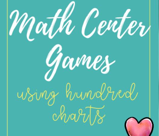 Math Center Games Using a Hundred Chart